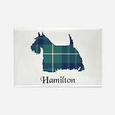 Terrier-Hamilton hunting Rectangle Magnet