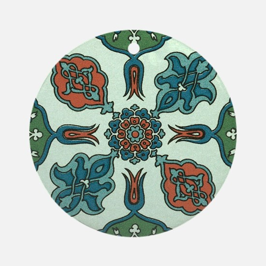 Traditional Art Ornament (Round)