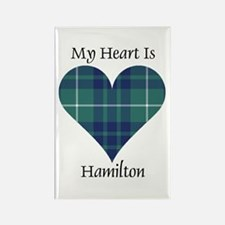 Heart-Hamilton hunting Rectangle Magnet