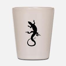 Lizard Art Shot Glass