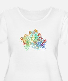 Bacterial ribosome Plus Size T-Shirt
