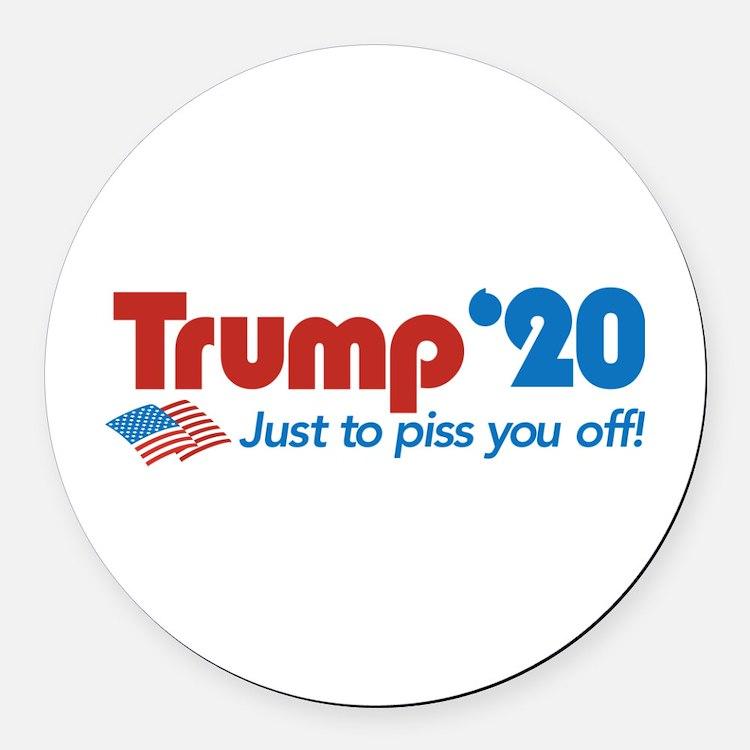 Trump '20 Round Car Magnet