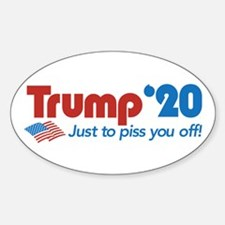 Trump '20 Sticker (Oval)