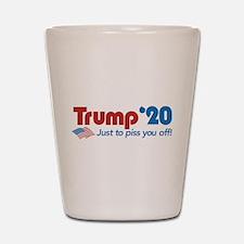 Trump '20 Shot Glass