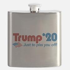 Trump '20 Flask