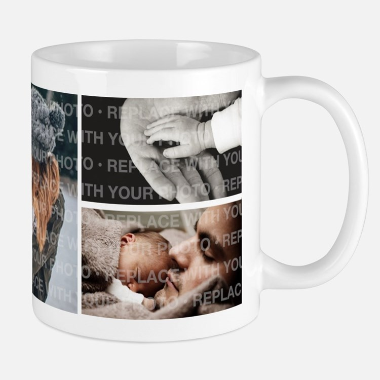 Personalized Collage Photo Mugs