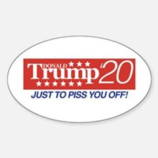 Donald Trump '20 Decal