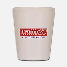 Donald Trump '20 Shot Glass