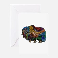 MUSKOX Greeting Cards