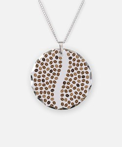 coffee bean beans Necklace