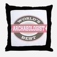archaeologist Throw Pillow