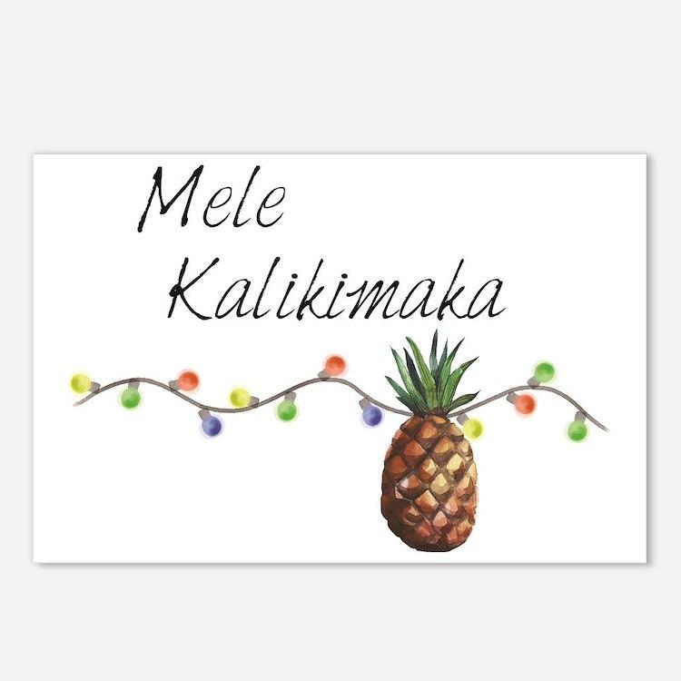 Mele Kalikimaka - Hawaiia Postcards (Package of 8)