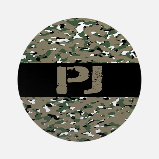 U.S. Air Force: PJ (Camouflage) Round Ornament