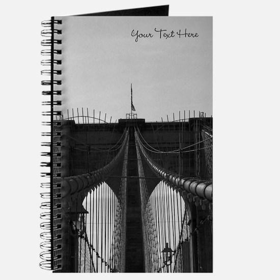 Personalized Brooklyn Bridge * Journal