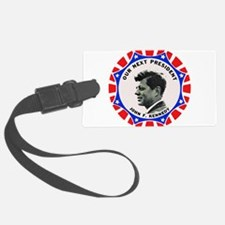 JFK Campaign Button Logo Luggage Tag