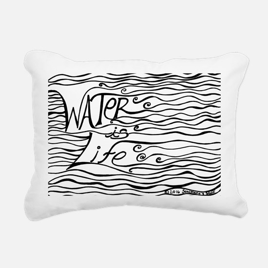 Cute Life Rectangular Canvas Pillow