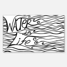 Unique Life Sticker (Rectangle)