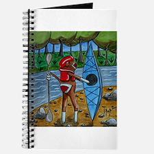 Kayak Sock Monkey Journal