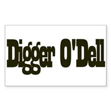 Digger o'Dell Rectangle Decal