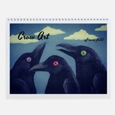Crow Art Wall Calendar