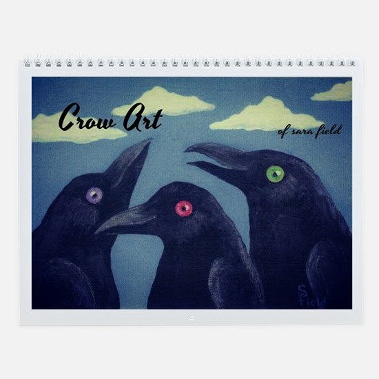 Crow Art Wall Calendar