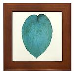 Big Blue Hosta Framed Tile