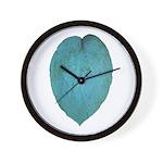 Big Blue Hosta Wall Clock