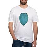Big Blue Hosta Fitted T-Shirt