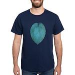 Big Blue Hosta Dark T-Shirt