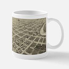 Vintage Pictorial Map of Wichita Falls TX (18 Mugs
