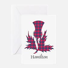 Thistle - Hamilton Greeting Card