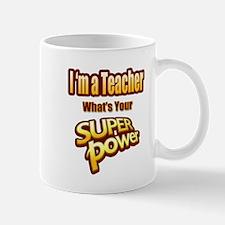 Super Power-Teacher Mugs