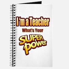 Super Power-Teacher Journal
