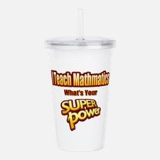 SuperPower-Math Acrylic Double-wall Tumbler