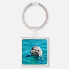 Dolphin Blue Water Keychains