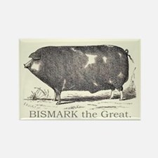 BISMARK THE GREAT Rectangle Magnet