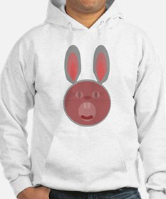 Bunny surprised us with big mouth open Sweatshirt