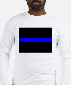 Thin blue line long sleeves shirts raglans 3 4 sleeves for Thin long sleeve t shirts