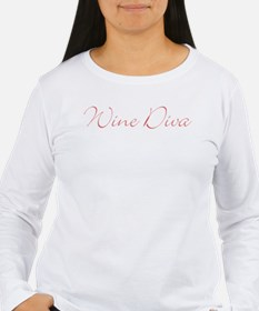 Wine Diva Long Sleeve T-Shirt