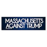 Massachusetts Against Trump Bumper Sticker