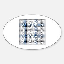 Monogram - Hannay Sticker (Oval)