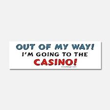 Casino Lovers Car Magnet 10 x 3