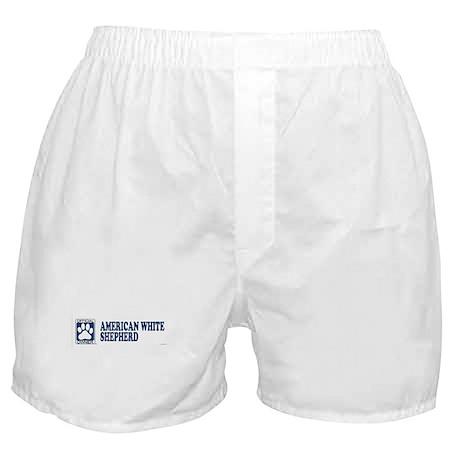 AMERICAN WHITE SHEPHERD Boxer Shorts