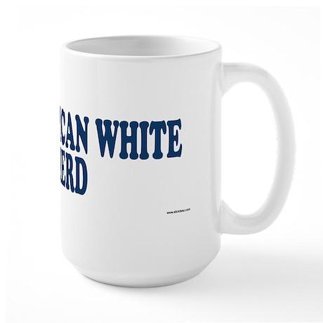 AMERICAN WHITE SHEPHERD Large Mug