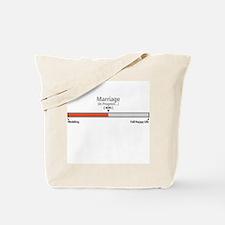 Progress Bar Marriage 40 - Tote Bag