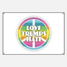 Love Trumps Hate Banner