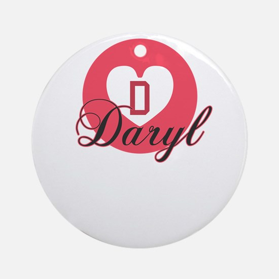 daryl Round Ornament