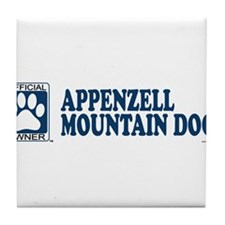 APPENZELL MOUNTAIN DOG Tile Coaster