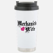 Mechanic's Wife Stainless Steel Travel Mug