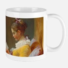 Young Girl Reading by Jean-Honoré Fragonard Mugs